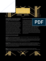 gatsby one pager