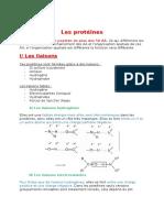 3. Les Protéines