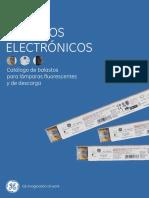 Balastos Electronicos 2012 GE