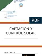 Captación y Control Solar