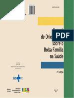 Caderno Bolsa Família Na Saúde, 2010