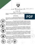 Auditoria de Cumplimiento Resolucion de Contraloria N 473-2014-CG