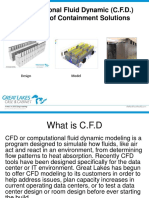 CFD Containment Modeling
