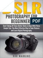 DSLR Photography For Beginners  - Rob Markins.epub
