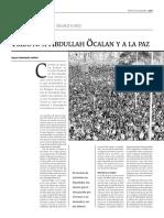 Tributo a Abdullah Öcalan y a La Paz (1/2)