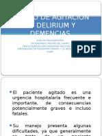 Manejo de Delirium y Demencia.