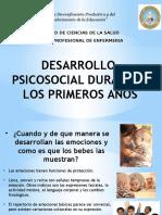 Desarrollo Psicosocial Durante Los Primeros Años