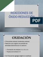 Oxidaciones y Reducciones en QO