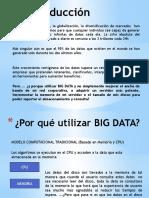 Big Data Justificación