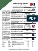 5.10.16 Minor League Report