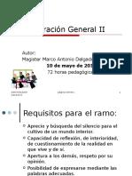 Administración General II 2014