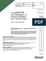C2 Practice Paper A1-2