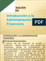 1 Introduccion a La Administracion Financiera e Indicadores Financieros