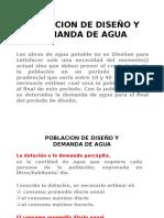 Poblacion de Diseño y..2015-0