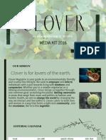 Clover Media Kit