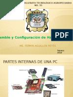 """""""Ensamble y Configuración de Hardware y Software"""""""