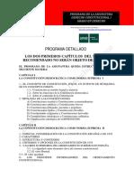 Programa Asignatura