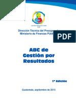 ABC de Gestion Por Resultados
