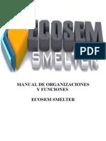 Organizacion y Funciones