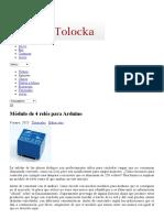 Módulo de 4 Relés Para Arduino _ Profe Tolocka