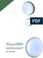 Tema 2 Planificación y Programación Del Entrenamiento.
