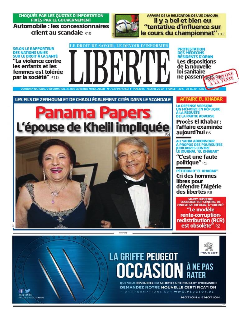 el khabar pdf aujourdhui