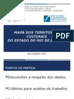 Mapa Dos Territórios Culturais Do Estado Do RJ