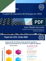 O Papel Do Executivo de Finanças Em 2016
