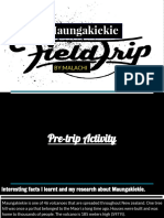 field trip- maungakiekie  one tree hill  - malachi herkt
