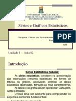 Calc Das Prob e Estat I AULA 2-Séries e Gráficos Estatísticos