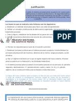 Reforma Al Sistema de Justicia Penal Mexicano