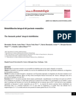 Fisioterapia Integral en Reumatologia