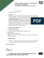 Simon Bolivar Informe - Abril