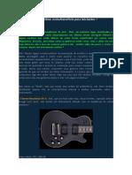 10 Guitarras Com Ótimo Custo