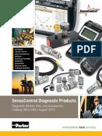 SensoControl Diagnostic Products CAT 3854 USA Aug2012
