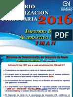 Actualización Tributaria 2016_Tema 2_IMAN