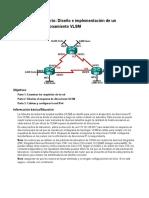 9.2.1.4 Lab - Designing and Implementing a VLSM Addressing Scheme - ILM