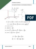 Euler en Coor Cilindricas