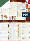Tim Hortons Nutrition Guide - Canada English