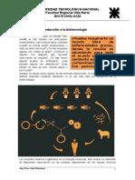Unidad 1- Introduccion a La Biotecnologia