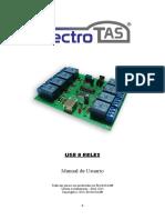 Datasheet USB 8 Relay