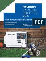 HYUNDAI Catalogo 2016