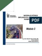 Modulo III Materiales Petreos