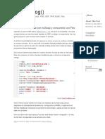 Crear Un Webservice Con Nusoap