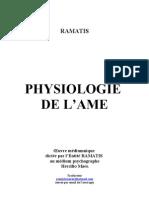 Ramatis Physiologie de l'Ame