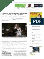 Descoberta das fezes humanas mais antigas expõe a verdadeira dieta paleolítica | Saúde Plena