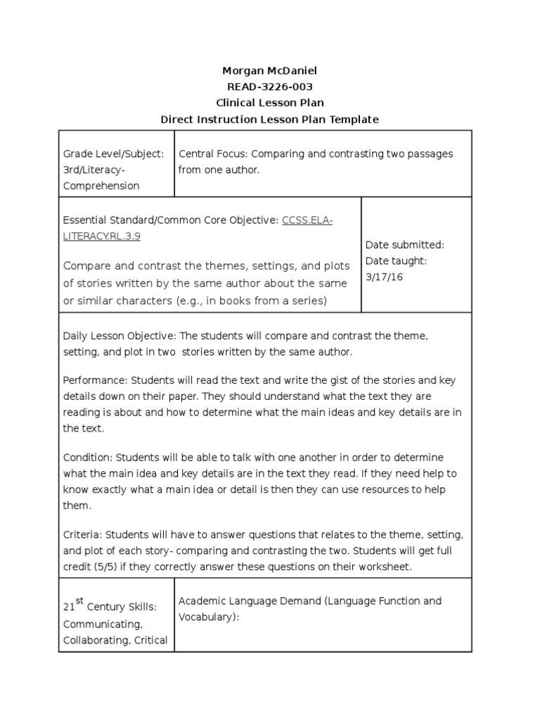 untitleddocument 21 | Lesson Plan | Educational Assessment