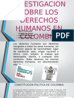 Trabajo de Investigacion Sobre Los Derechos Humanos