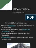 crustal deformation notes 2
