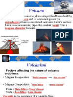 volcanoes slides